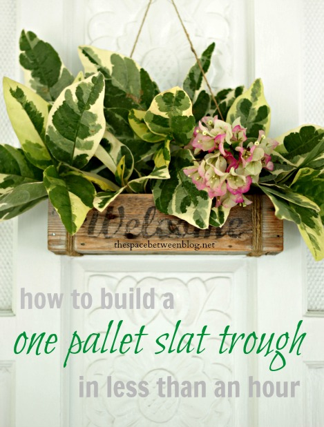 One of The Easiest Pallet Projects Ever by The Space ...