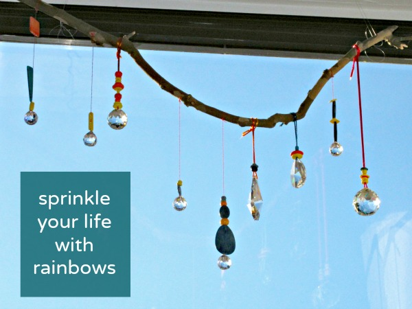 Sprinkle Rainbow Joy Around Your Living Room by What We Do All Day