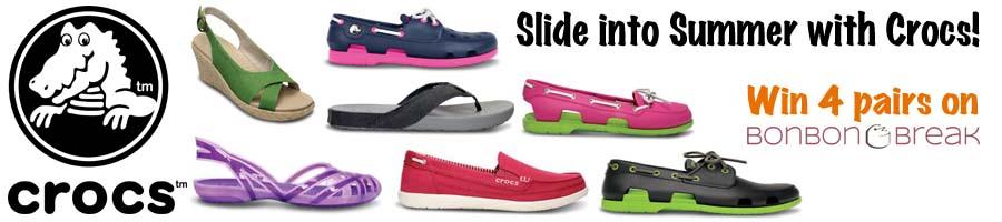 crocs slider