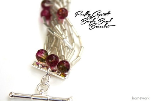 Bugle Bead Bracelet by Carollyn's Homework
