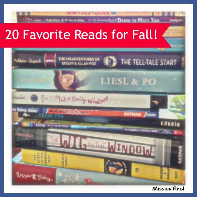 20 Fun Read Alouds for Fall