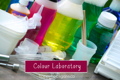 Colour Laboratory by Happy Hooligans