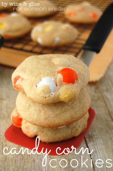 Candy Corn Cookies #OXOGoodCookie by Wine and Glue