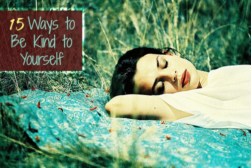 15 Ways to Be Kind to Yourself by The Robyn Nest [photo by Kris Krug via Flicker CC]