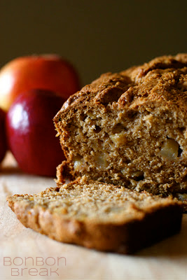 Browned Butter Apple Bread (A Tale of an Apple Thief)