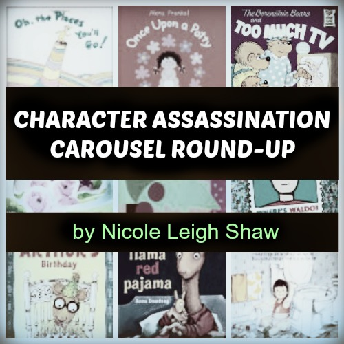 Character Assassination Carousel by Nicole Leigh Shaw