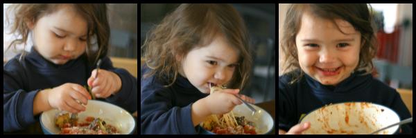 Daniel Tiger's Veggie Spaghetti