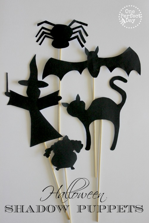 Halloween Shadow Puppets by One Perfect Day