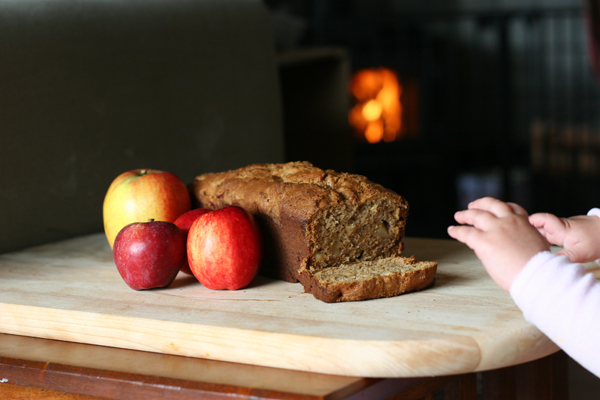 Browned Butter Apple Bread by Val Curtis of Bonbon Break