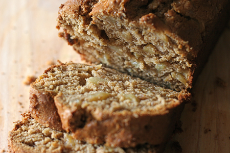 Browned Butter Apple Bread (A Tale of an Apple Thief) by Val Curtis of Bonbon Break