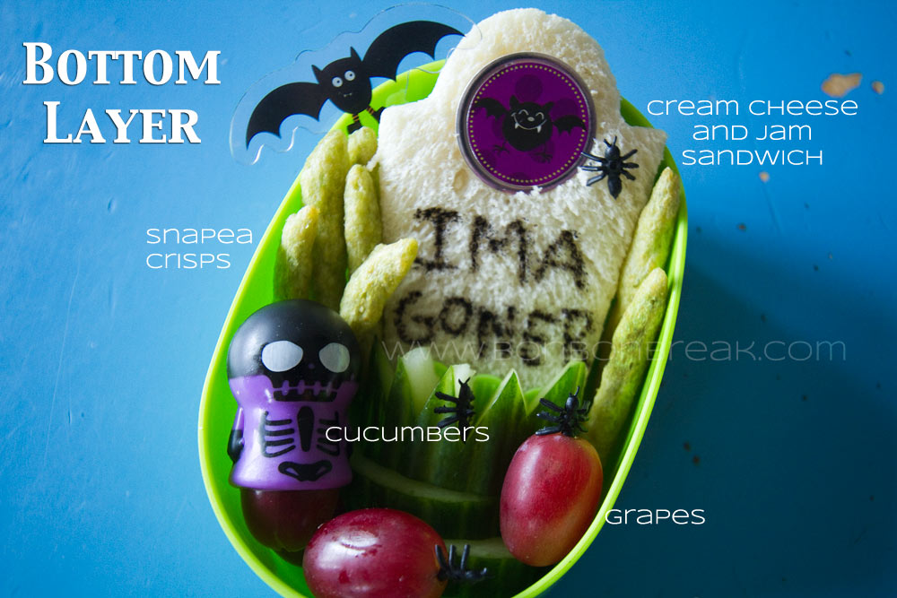 Boo! Bento...A Hair Raising Lunch For Your Little Goblin by Arlee Greenwood for Bonbon Break bottomlayer