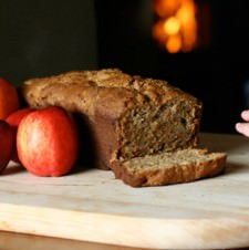 Browned Butter Apple Bread – the perfect quick bread for Fall!