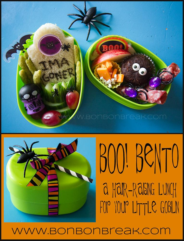 Boo! Bento…A Hair-Raising Lunch For Your Little Goblin
