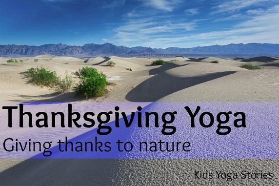 Thanksgiving Yoga by Kids Yoga Stories