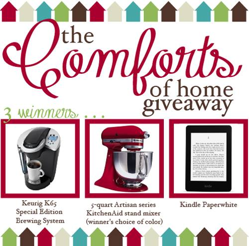 The Comforts of Home Giveaway