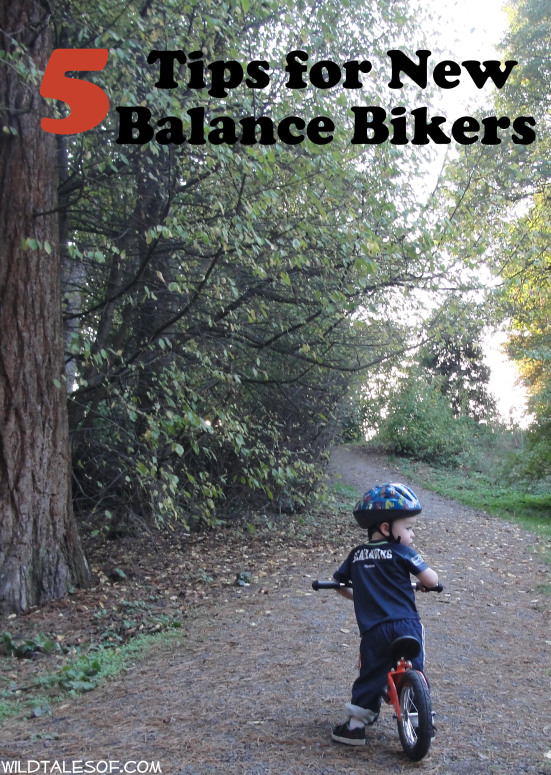 5 Quick Tips for New Balance Bikers by Wild Tales of…