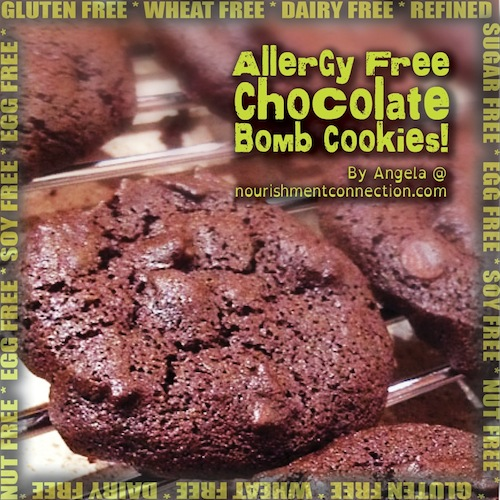 Me Want Chocolate Bomb Cookies! by Angela Marinelli