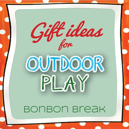 Gift List for Outdoor Play