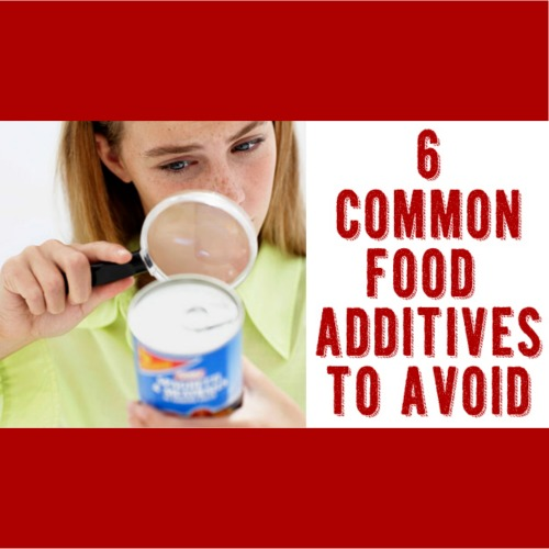 6 common food additives to avoid by One Good Thing by Jillee