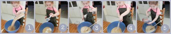 Bird Seed Dough Bird Feeders by Katie Myers of Bonbon Break