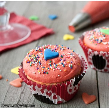 Jumbo Heart Sprinkles by Cakewhiz