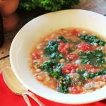 Quinoa and Kale soup by Noshing with the Nolands