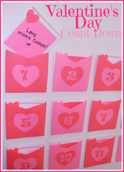 Valentine's Day Countdown Calendar by Katie Myers