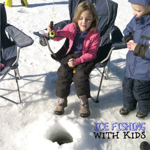 Ice Fishing with Kids by Nature for Kids