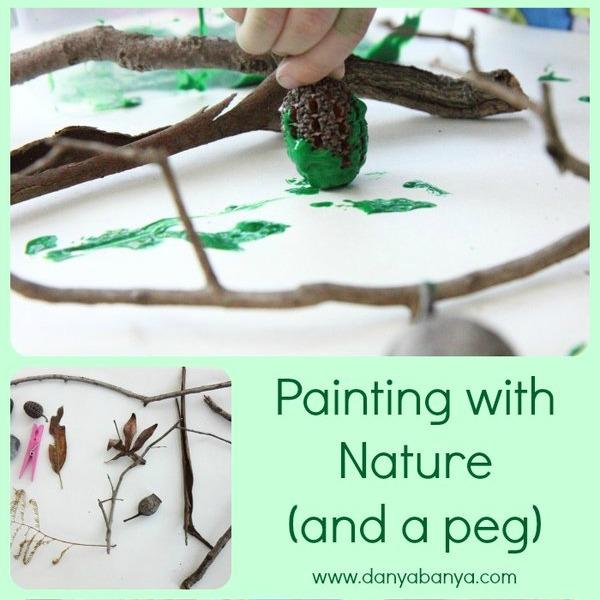 Painting with Nature by Danya Banya