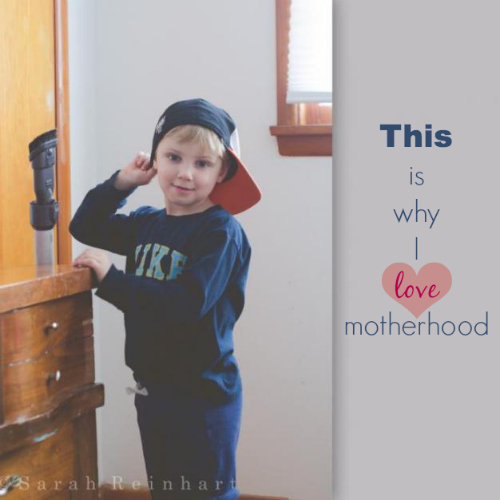 This Is Why I Love Motherhood by Little White Whale