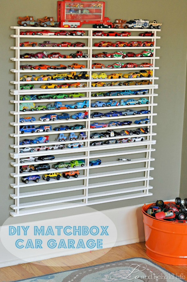 diy matchbox car garage by a lo and behold life bonbon break