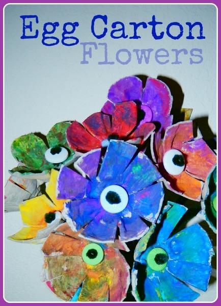 Egg Carton Flowers By Katie Myers Bonbon Break