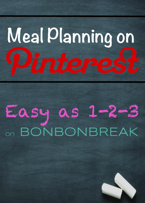 3 Tips for Quick Meal Planning on Pinterest by Val Curtis