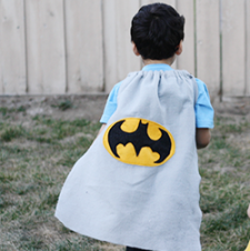 Superhero Cape Tutorial