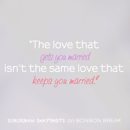The Love That Keeps You Married by Brenna Jennings