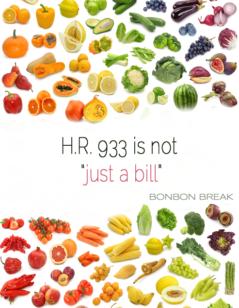 H.R. 933 is not just a bill HR 933 is not just a bill1