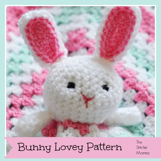 Free Crochet Patterns For Baby Loafers : Bunny Lovey Pattern by The Stitchin Mommy ? BonBon Break