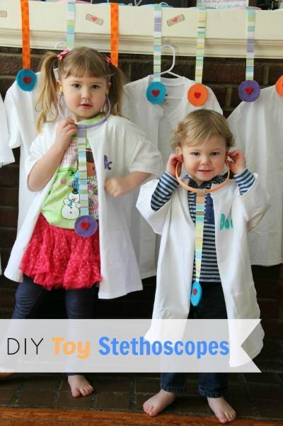 DIY Toy Stethoscopes