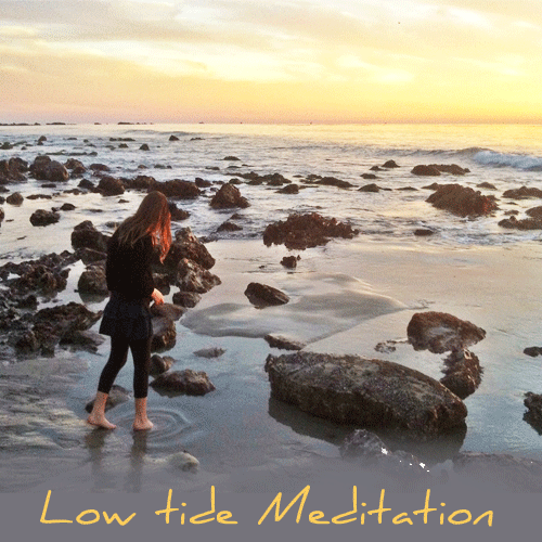 Low Tide Meditation to Rejuvenate Your Soul by Walk Simply