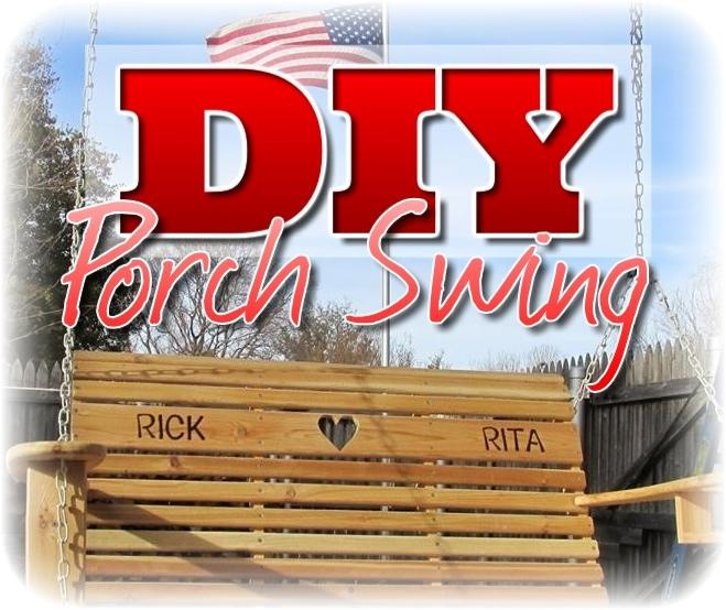 DIY Porch Swing by Wilker Do's