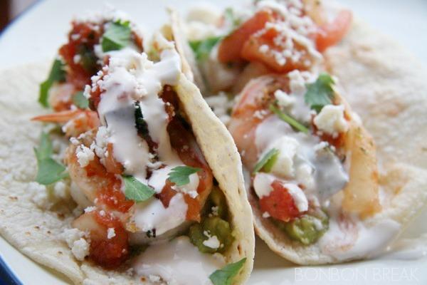 Cilantro Lime Shrimp Tacos with #ShrimpShowdown