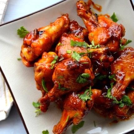 Honey Sriracha Chicken Wings by The Woks of Life