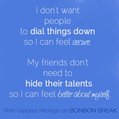 Unintended Consequences of Being YOU by Mom Explores Michigan