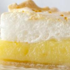 Meyer Lemon Meringue Slab Pie