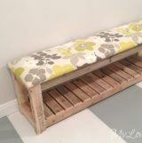 DIY Upholstered Bench - MyLove2Create