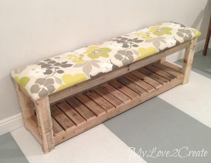 Diy Upholstered Bench Bonbon Break