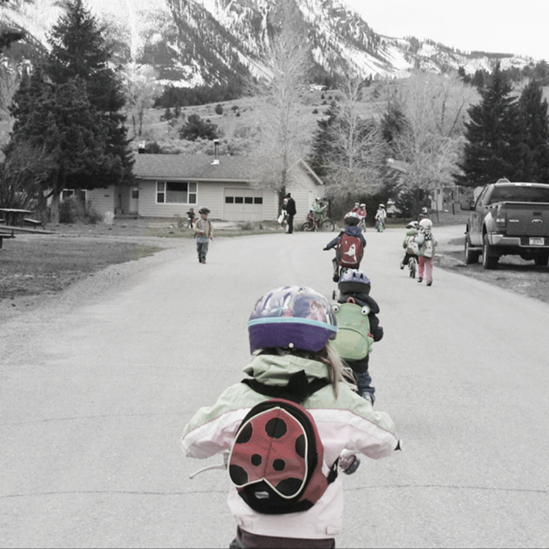 Active and Outdoor Birthday Parties – Biking Scavenger Hunt by Tales of a Mountain Mama