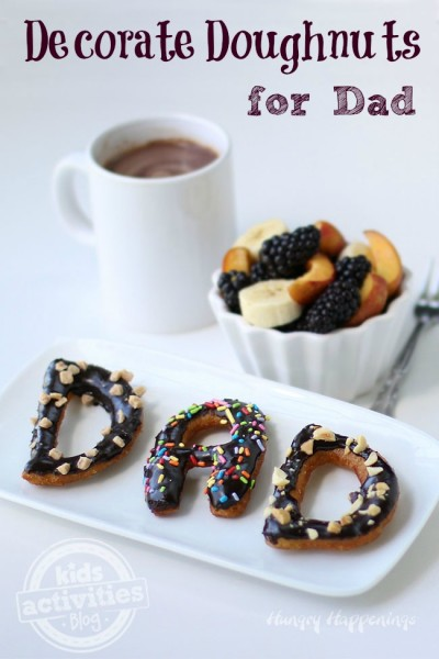 Decorate-doughnuts-for-dad