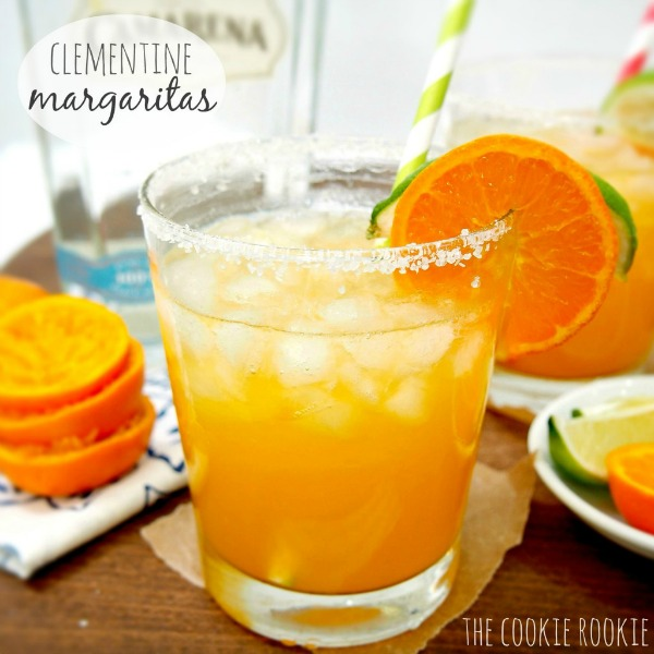 Clementine Margaritas by The Cookie Rookie