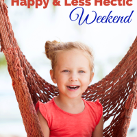 4 Tips for A Happy and Less Hectic Weekend by Abundant Mama